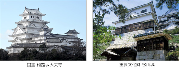 姫路城大天守 松山城